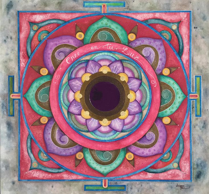 Mandalas creativos - Mandalas personalizados - Arbol de la Vida - Personalizados por encargo. Luciana Torre - Mandala art #mandala  #mandalaart  #mandalatattoo  #mandalapainting  #mandalacreativo  #mandalaintuitivo  #mandalapersonal