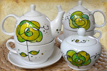 Luciana Torre ceramica dipinta a mano. Creazioni uniche  Personalizzabili su ordinazione