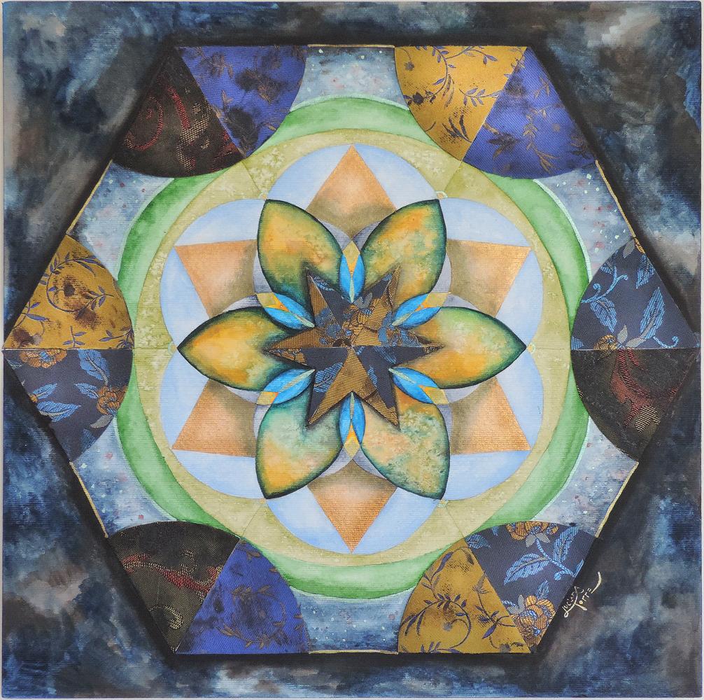 Luciana Torre ART - Arte terapista - Creación de mandalas personales y mandalas intuitivos. Contáctame a lucianatorre@gmail.com