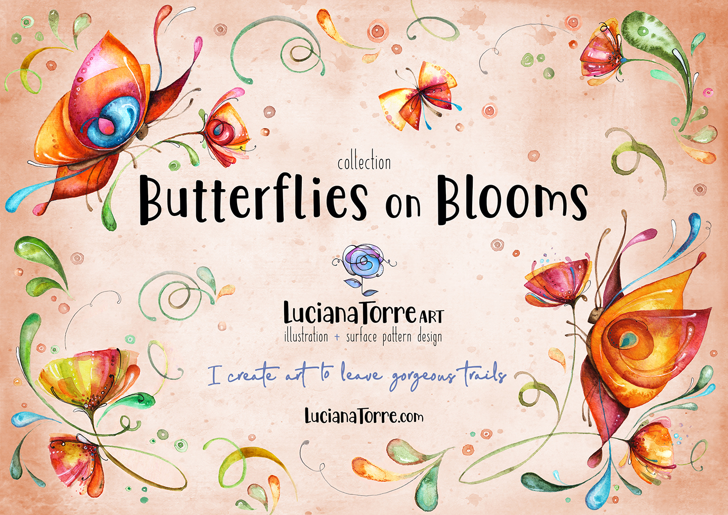 LucianaTorreART lookbook greeting cards for licensing 1