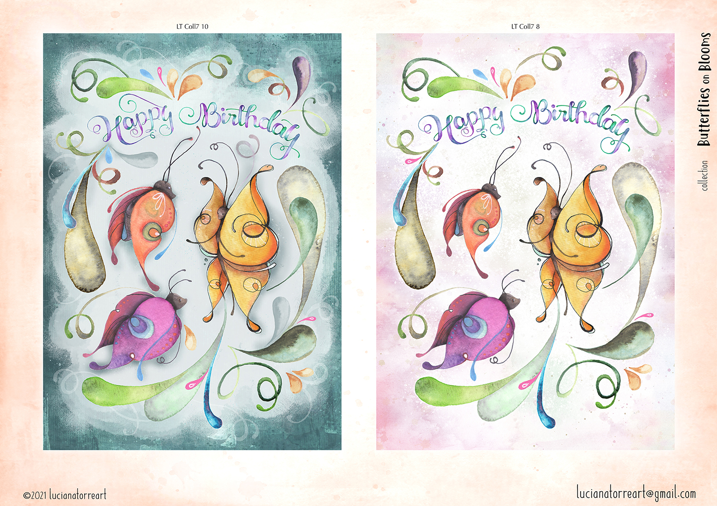 LucianaTorreArt lookbook greeting cards for licensing 10