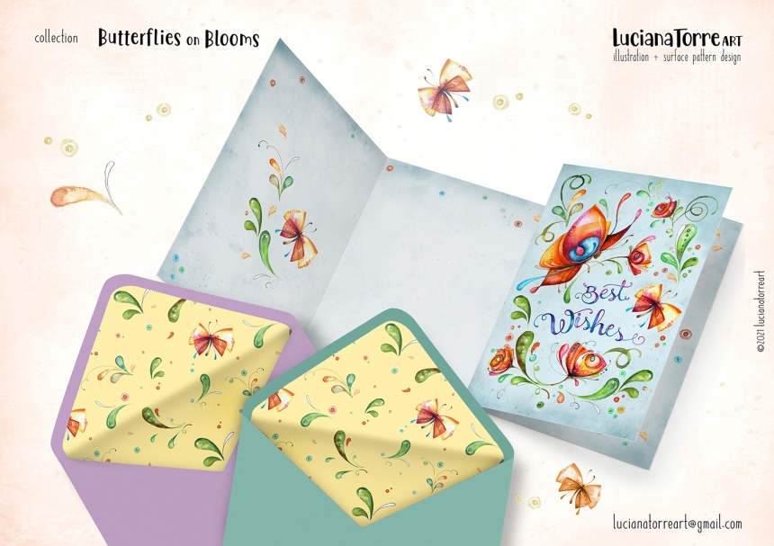 Luciana Torre Art lookbook greeting cards for licensing 18