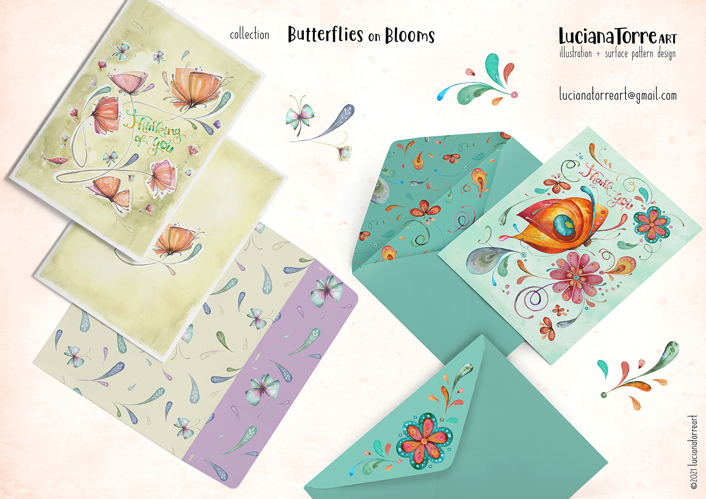 LucianaTorreArt lookbook greeting cards for licensing 21