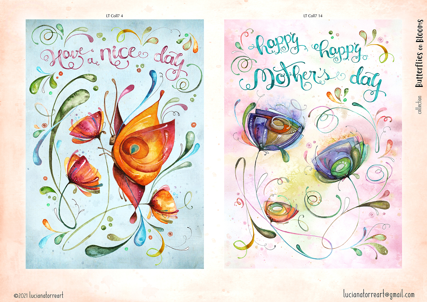 LucianaTorreART lookbook greeting cards for licensing 6