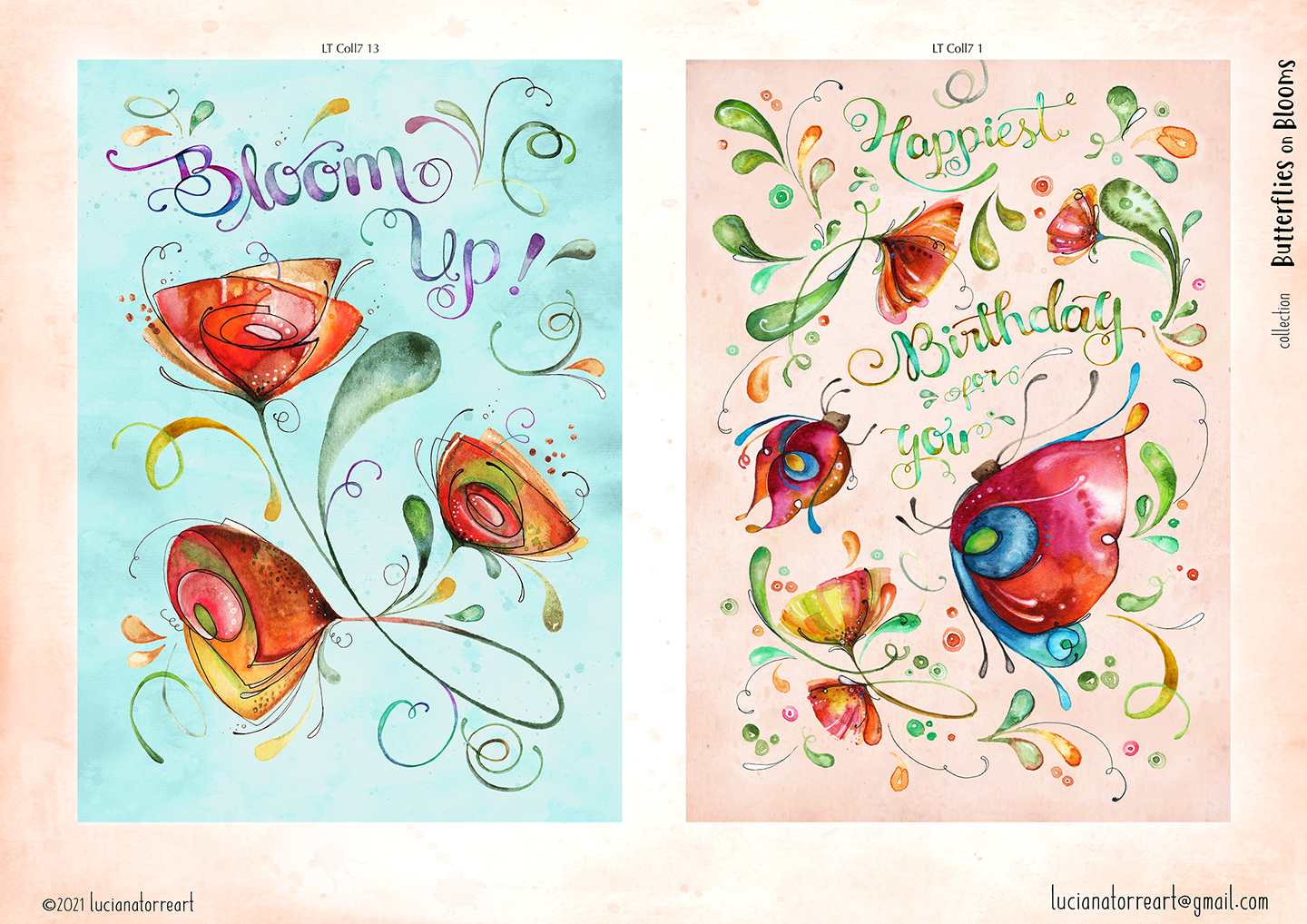 LucianaTorreART lookbook greeting cards for licensing 7