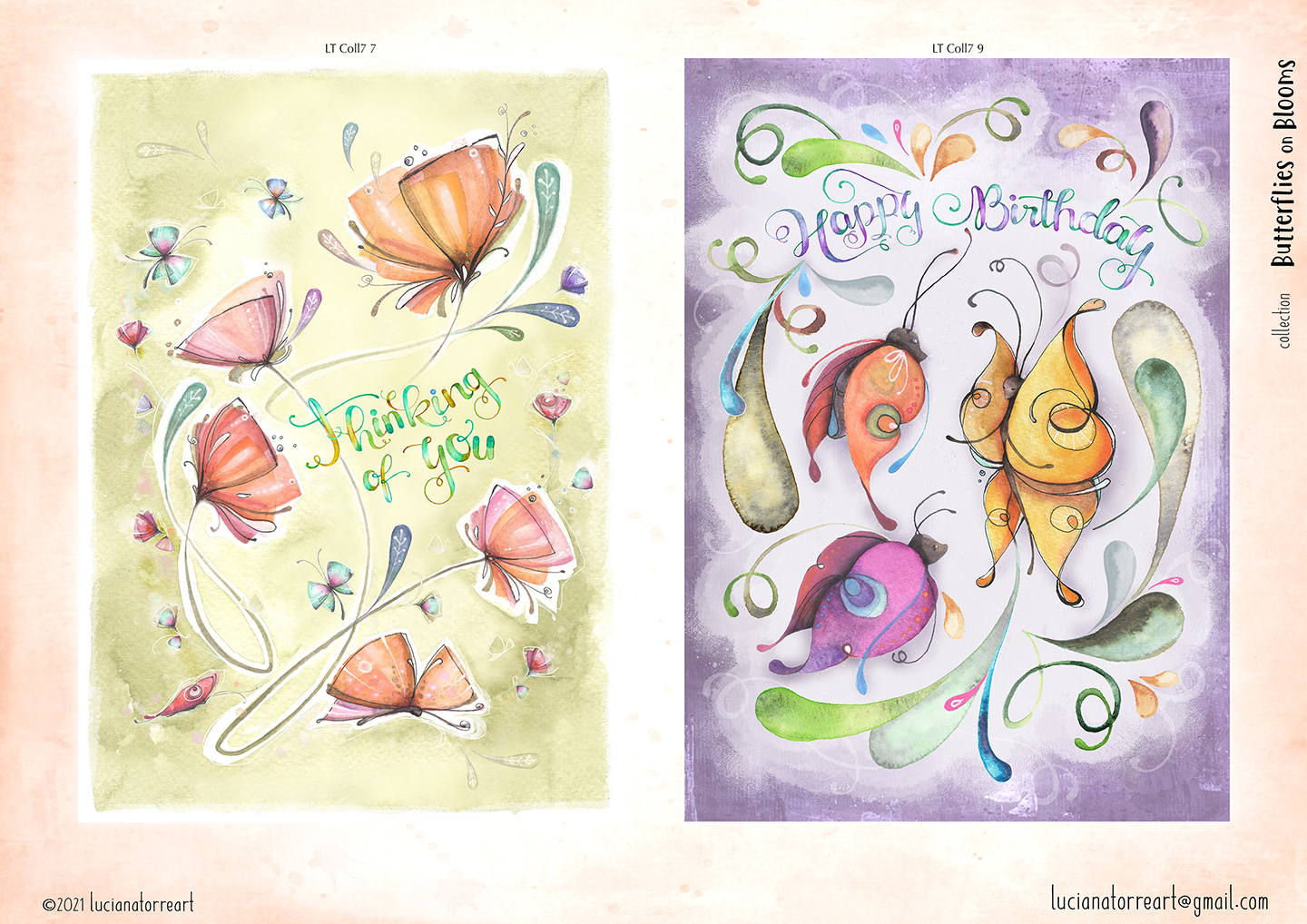 LucianaTorreART lookbook greeting cards for licensing 9