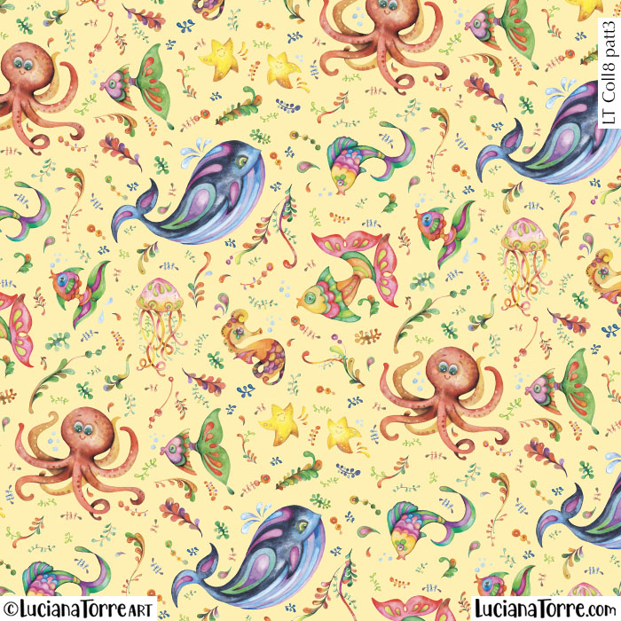 Luciana Torre Art Licensing illustration and surface pattern design