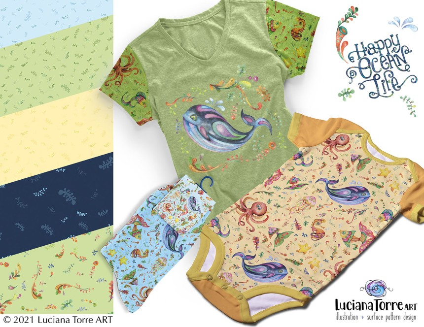 Luciana Torre Art pattern collection