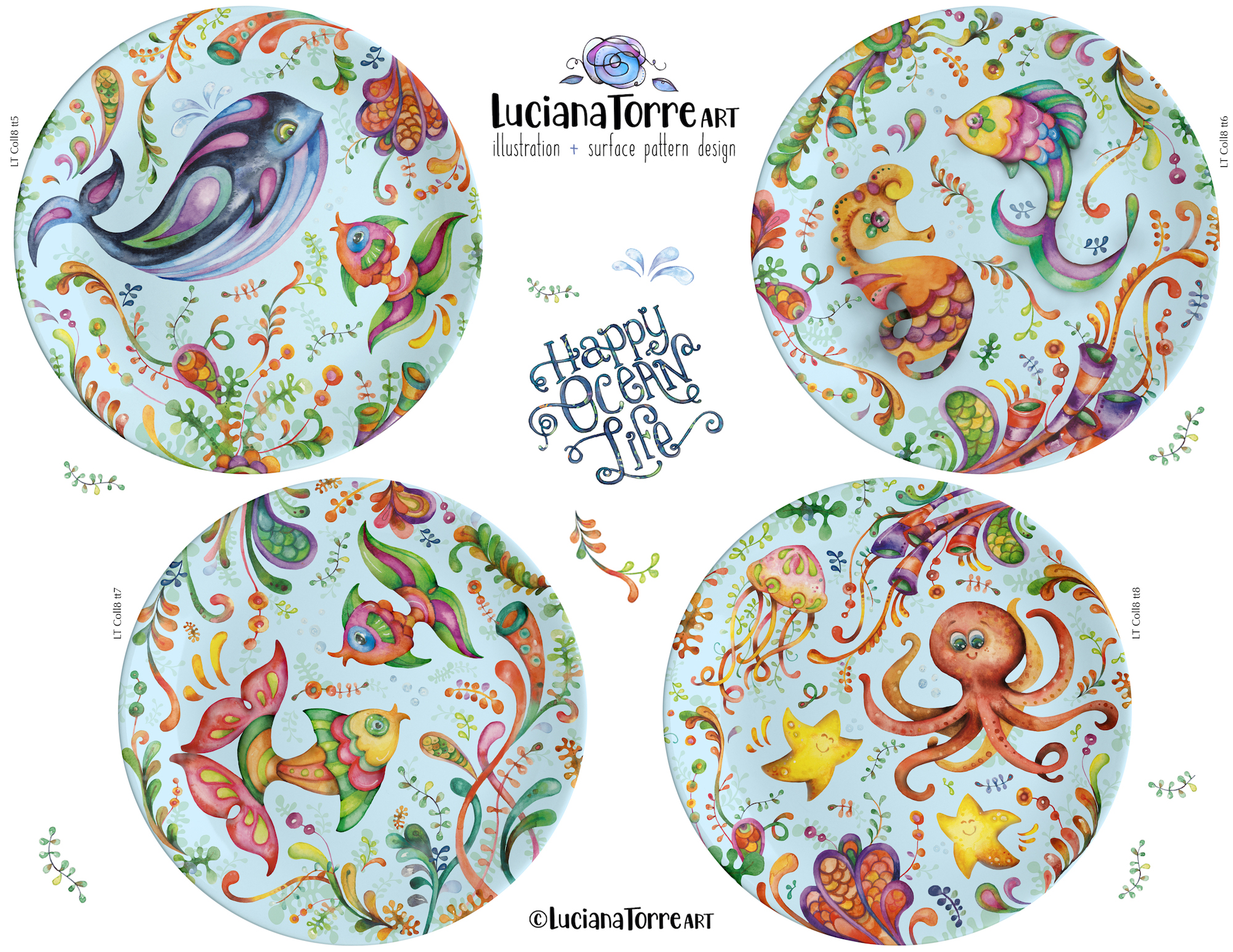 Luciana Torre Art tabletop for license