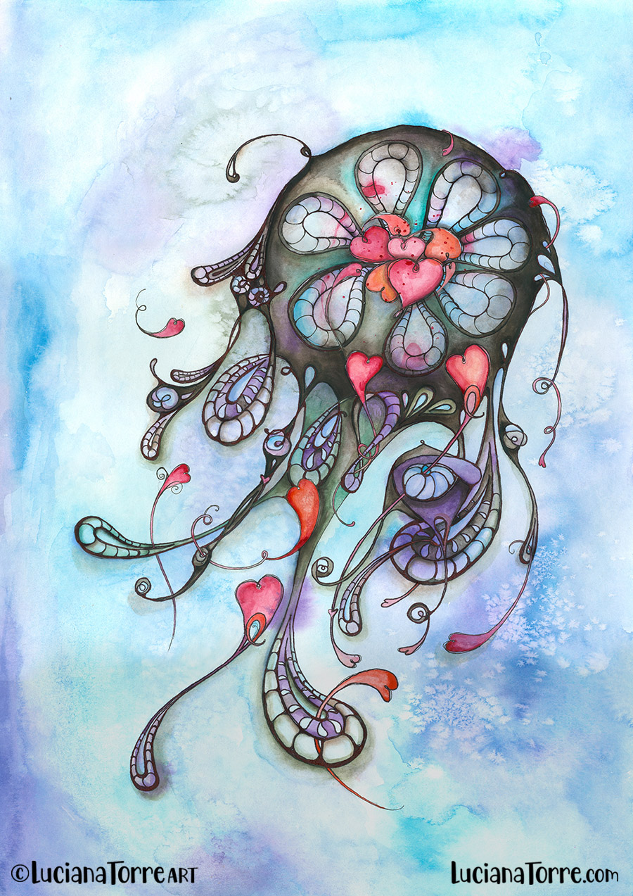 Luciana Torre ART dreamcatcher illustration